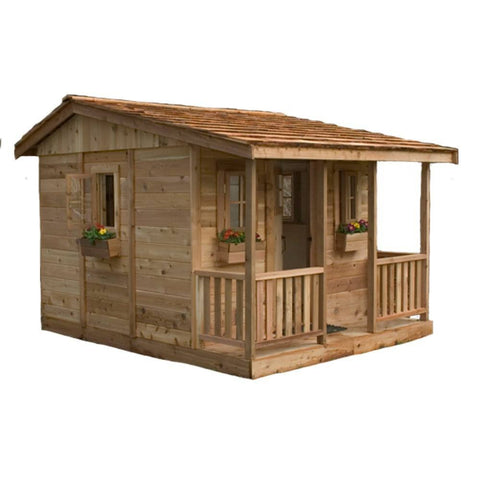 Outdoor Living Today - 7 x 9 Cozy Cabin Playhouse - Default Title - Play  - Yard Outlet