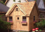 Outdoor Living Today - LCP99 - 9 x 9 Laurens Cottage Playhouse - Outdoor Living Today