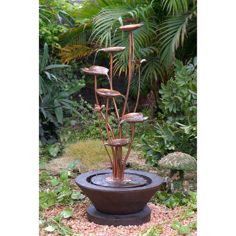 Jeco - Acqua Di Loto Lotus Outdoor Fountain - Default Title - Water Gardening  - Yard Outlet