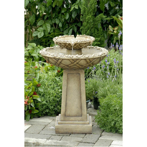 Bird Bath Outdoor Water Fountain - Jeco