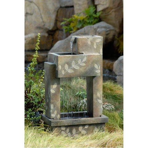 Slate Finish Indoor or Outdoor Water Fountain - Jeco