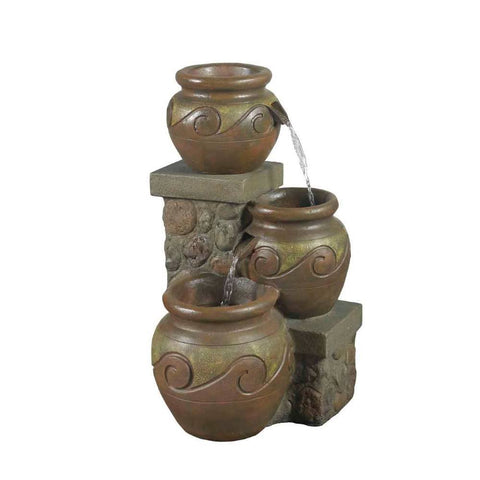 Venice Multi Pot Outdoor or Indoor Fountain - Jeco