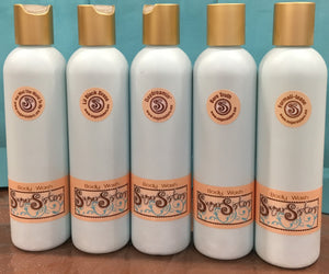 Sugar Sisters Organic Body Wash, organic, non-irritating, body wash, clean feeling body wash, body wash