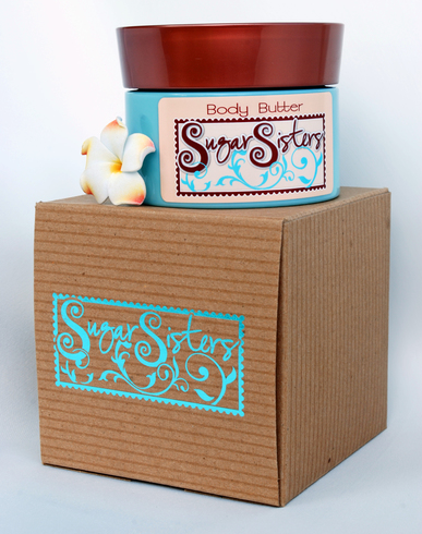 SUGAR SISTERS BODY BUTTER 6.7 OZ.