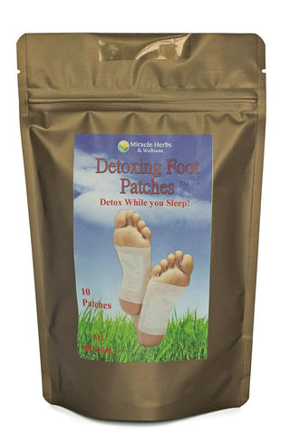 Detox Patches - DETOXING FOOT PATCHES ™