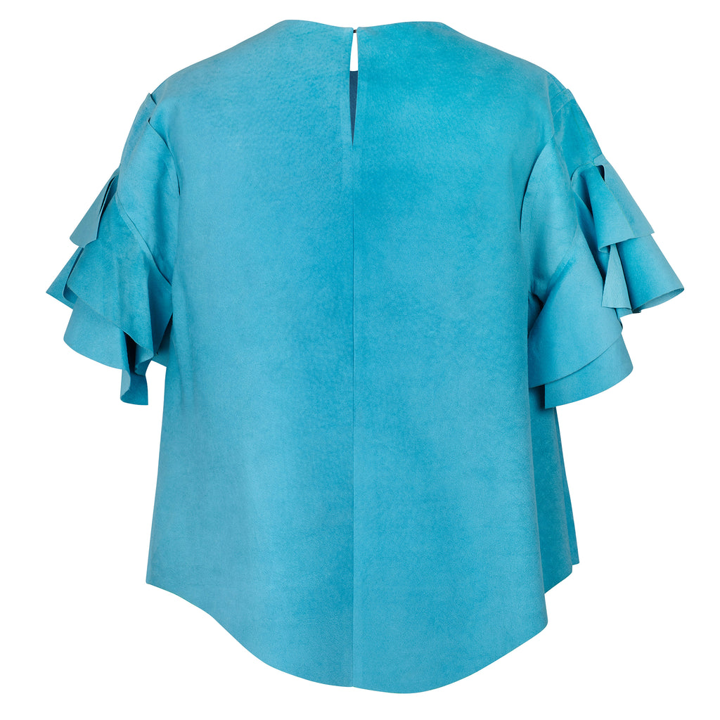 Lashes Turquoise Caddy Top