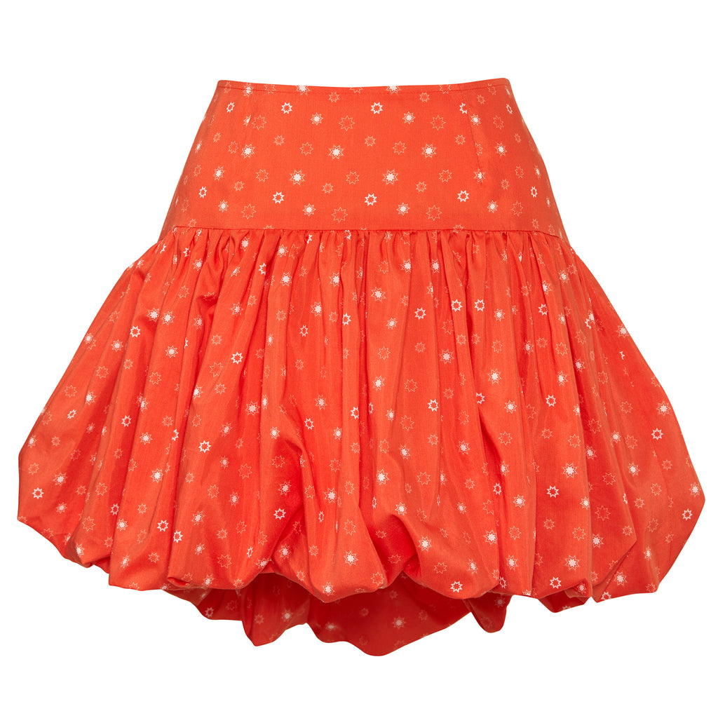 Sienna Voluminous Puff-Ball Mini Skirt