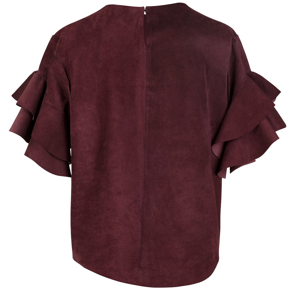 Lashes Aubergine Caddy Top