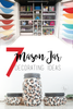 7 Mason Jar Decorating Tips