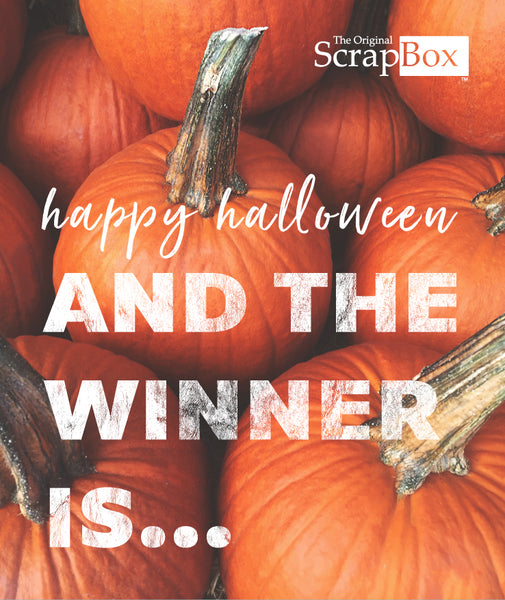 ScrapBox Family Costume Contest Winners!