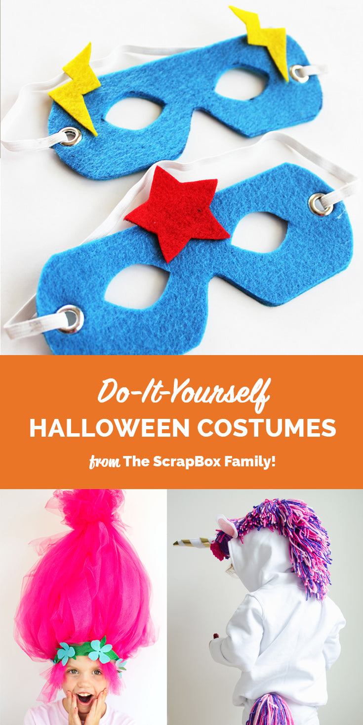 Blog tagged diy crafts page 3 the original scrapbox diy halloween costumes from the scrapbox family solutioingenieria Gallery