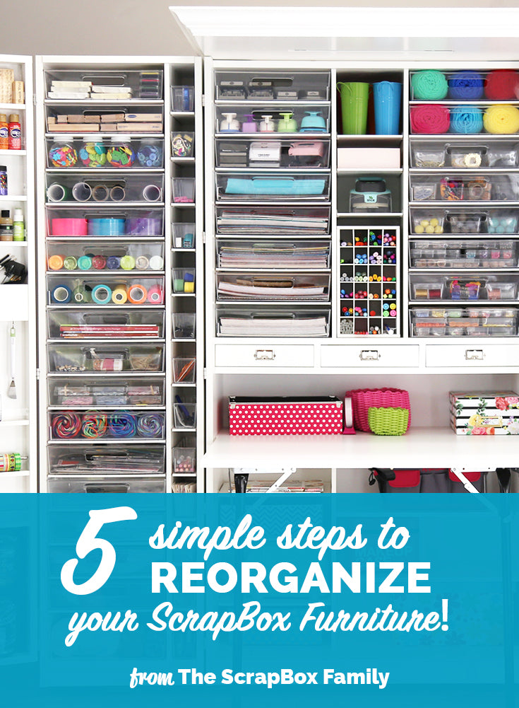 Reorganizing Room: Reorganize Your ScrapBox Furniture For The New Year