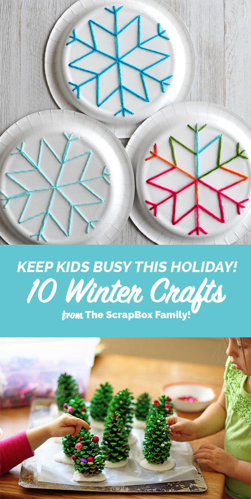 Snow Day Winter Craft Ideas The Original Scrapbox