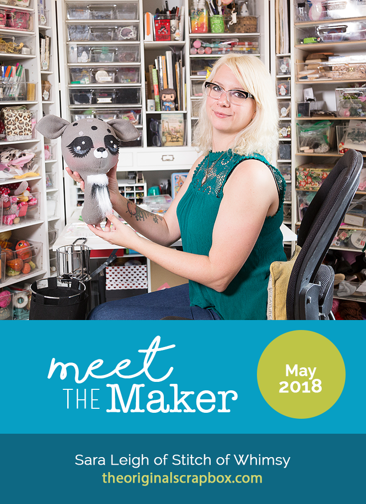 Meet The Maker: Sara Leigh of Stitch of Whimsy