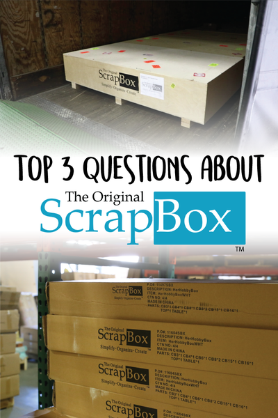 Top 3 Questions about The Original ScrapBox