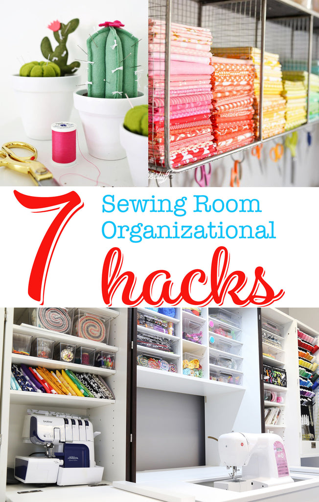 Sewing Room Organization Hacks