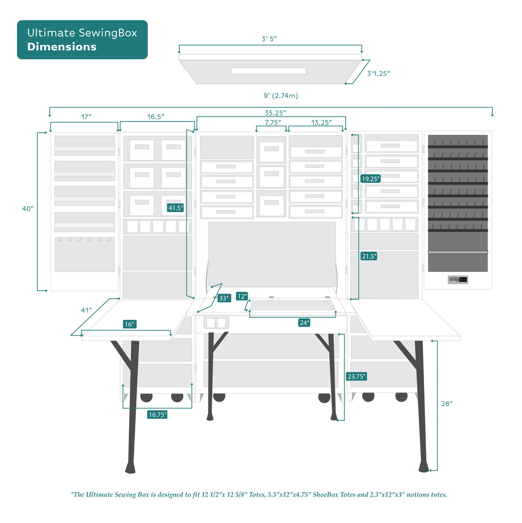 sewingbox dimensions