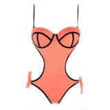 Vegas | Cut Out One Piece | Coral