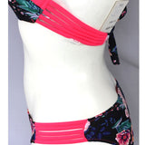 Tropical Island | Floral Bikini | Hot Pink