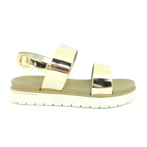 Keira | Metallic Flex Sole | Gold