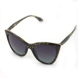 Dubai | Cat Eye Sunglasses | Palm Green