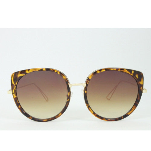 Palm Springs | Oversized Marbled Sunglasses | Leopard