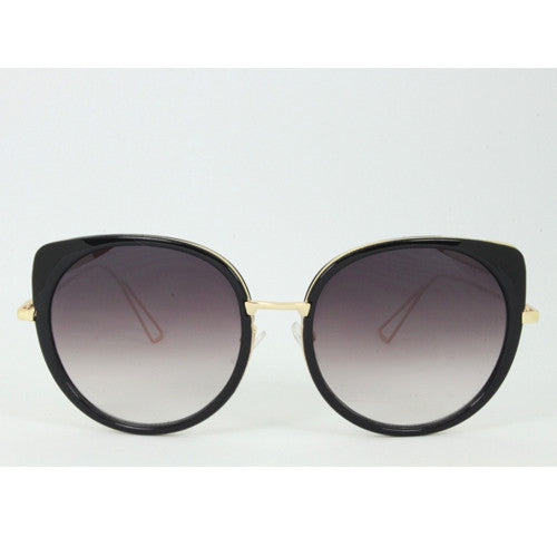 Palm Springs | Oversized Marbled Sunglasses | Black