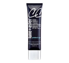sheer, skin correcting medium coverage