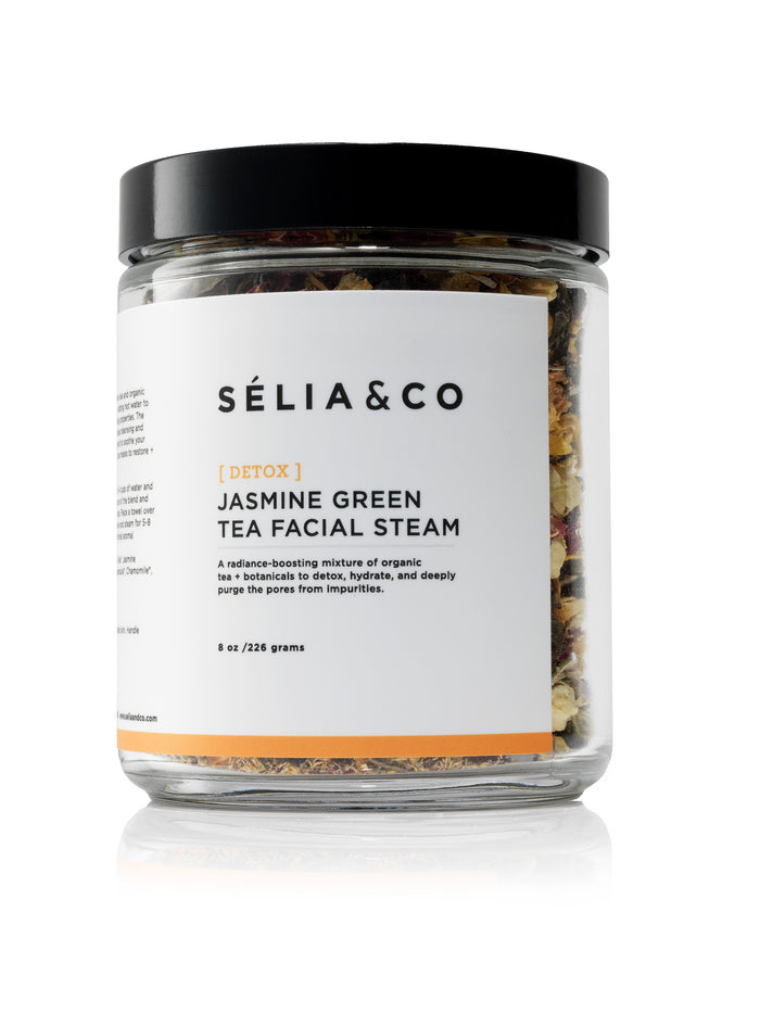 [DETOX] Jasmine Green Tea Facial Steam