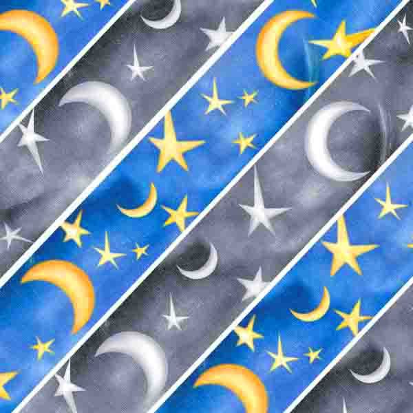 Starry Night Moon & Star Collection