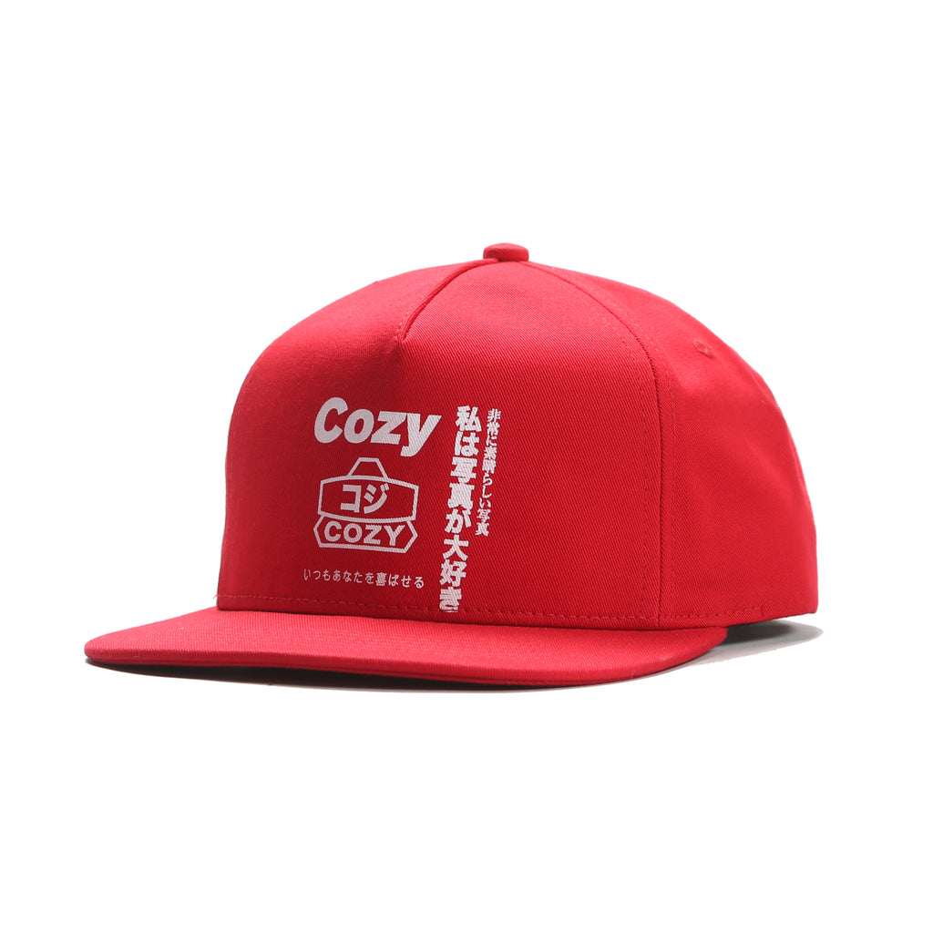 Wrapped Up Cap - Red
