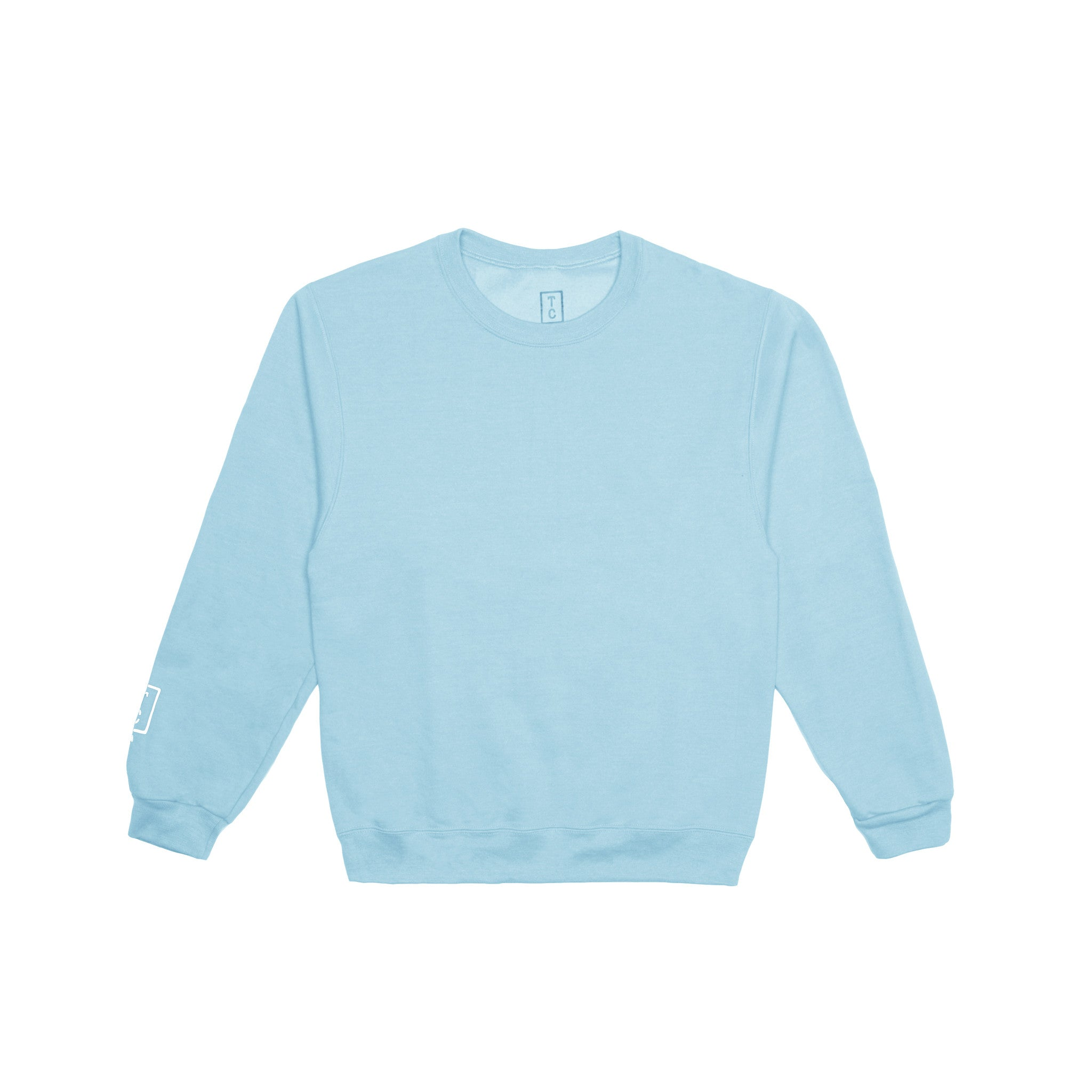 Cozy Box Crewneck - Powder Blue
