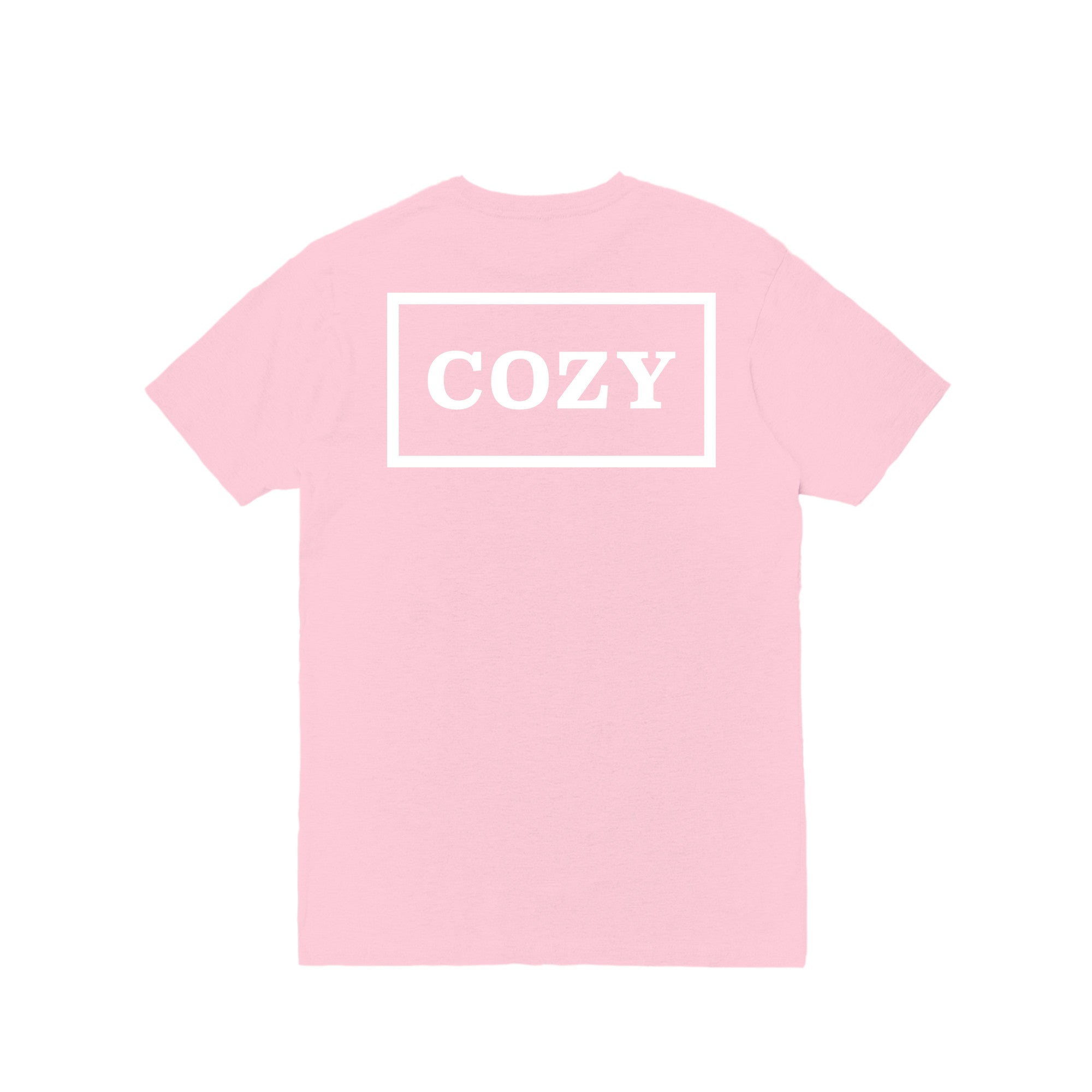 Cozy Box Tee - Light Pink