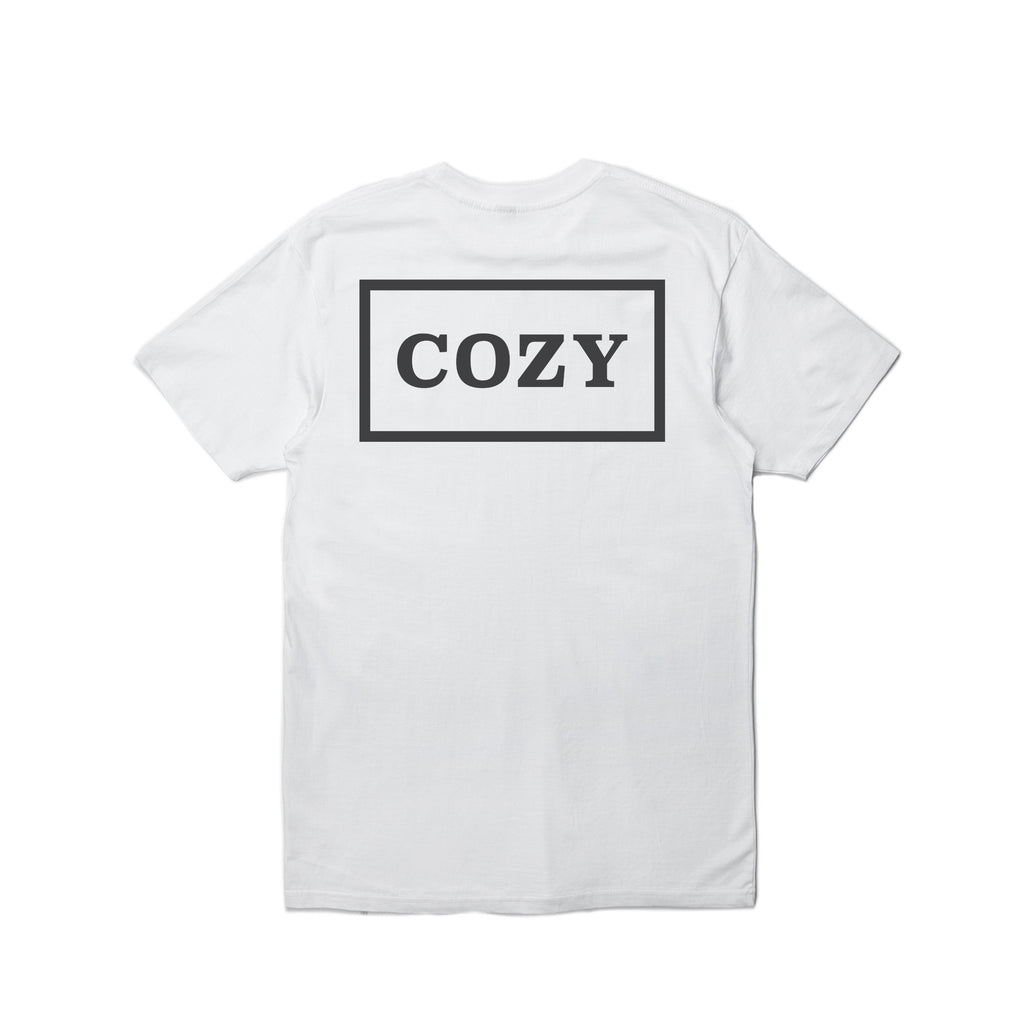 Cozy Box Tee - White