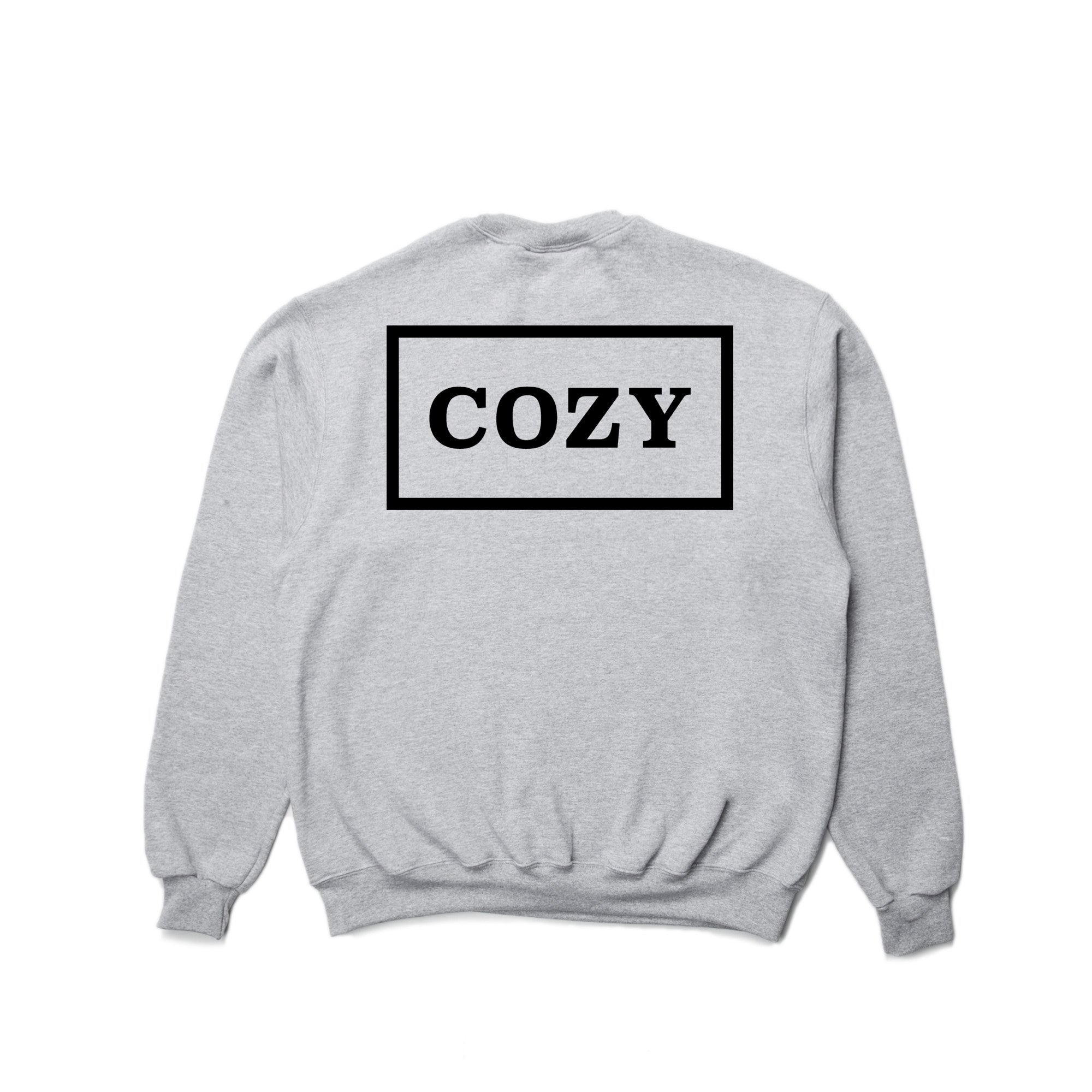 Cozy Box Crewneck - Heather