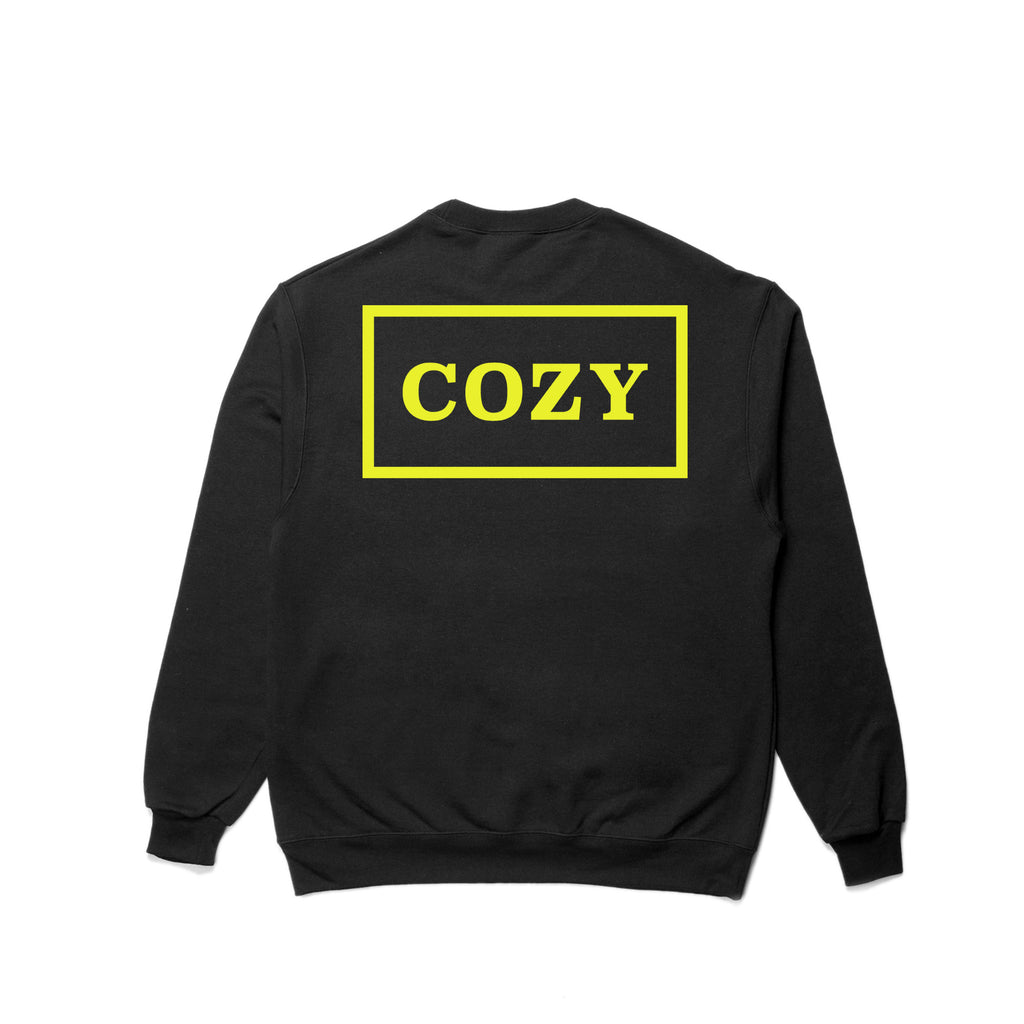 Cozy Box Crewneck - Black