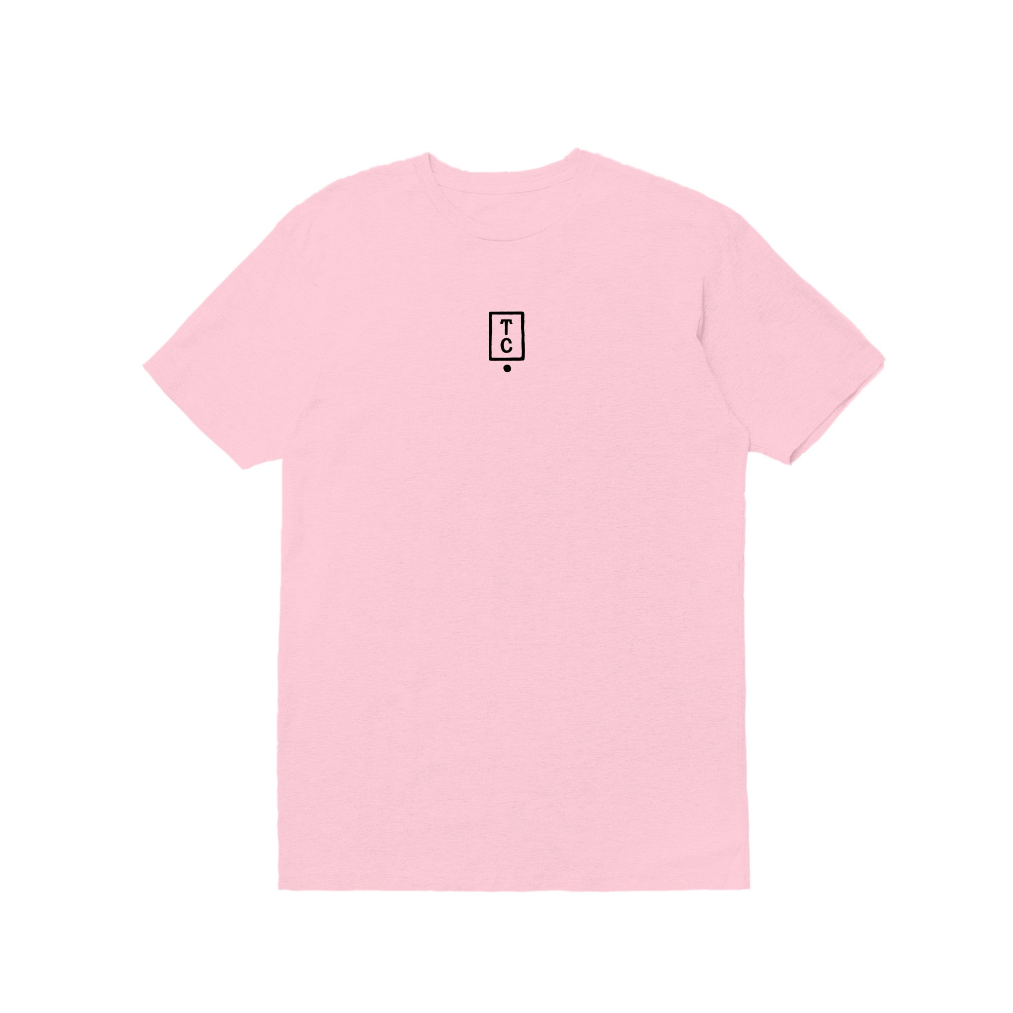 Photographer Person Tee - Light Pink