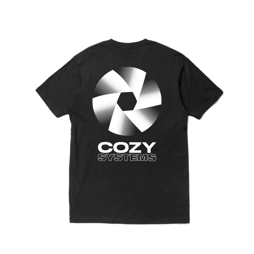 Cozy Systems Tee - Black