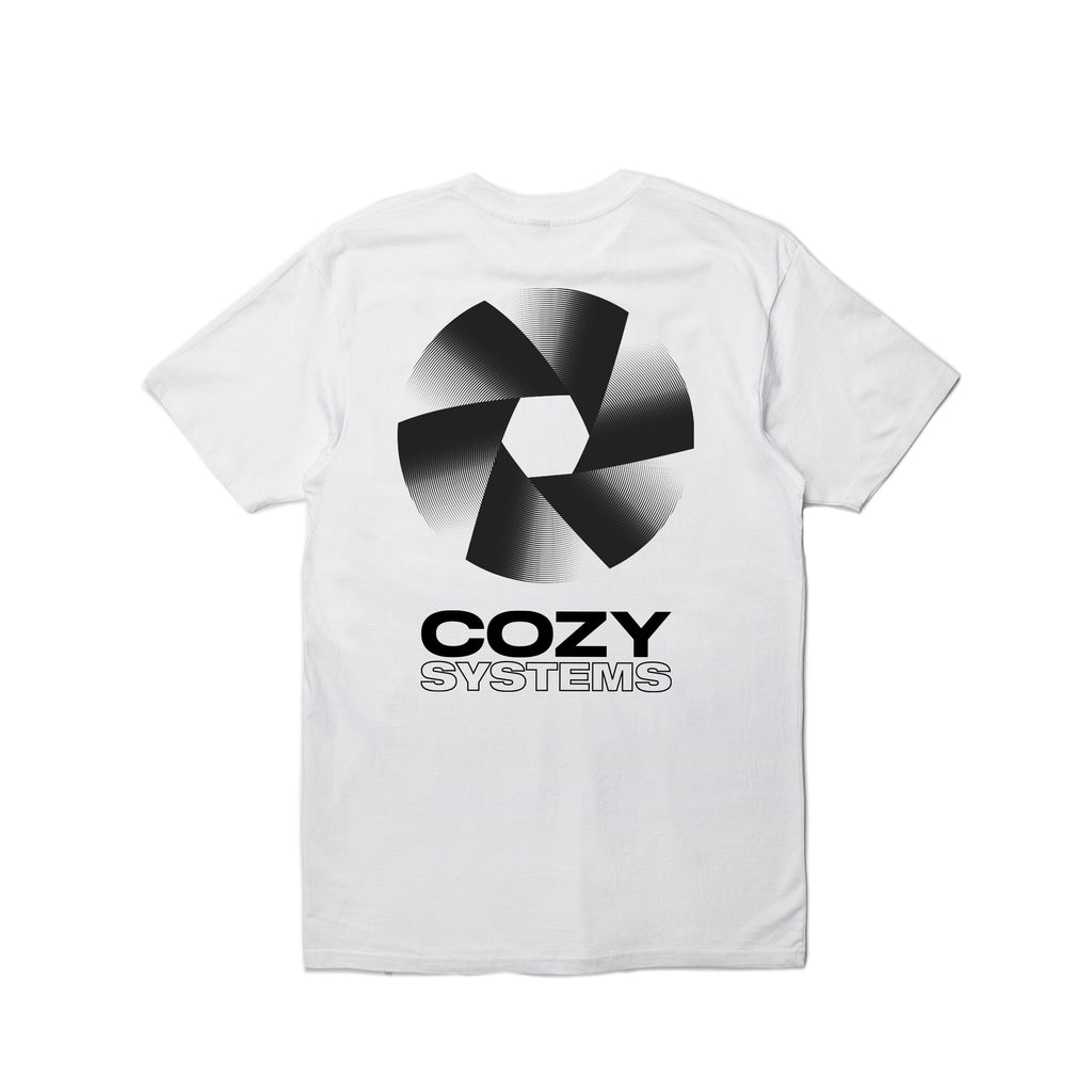 Cozy Systems Tee - White
