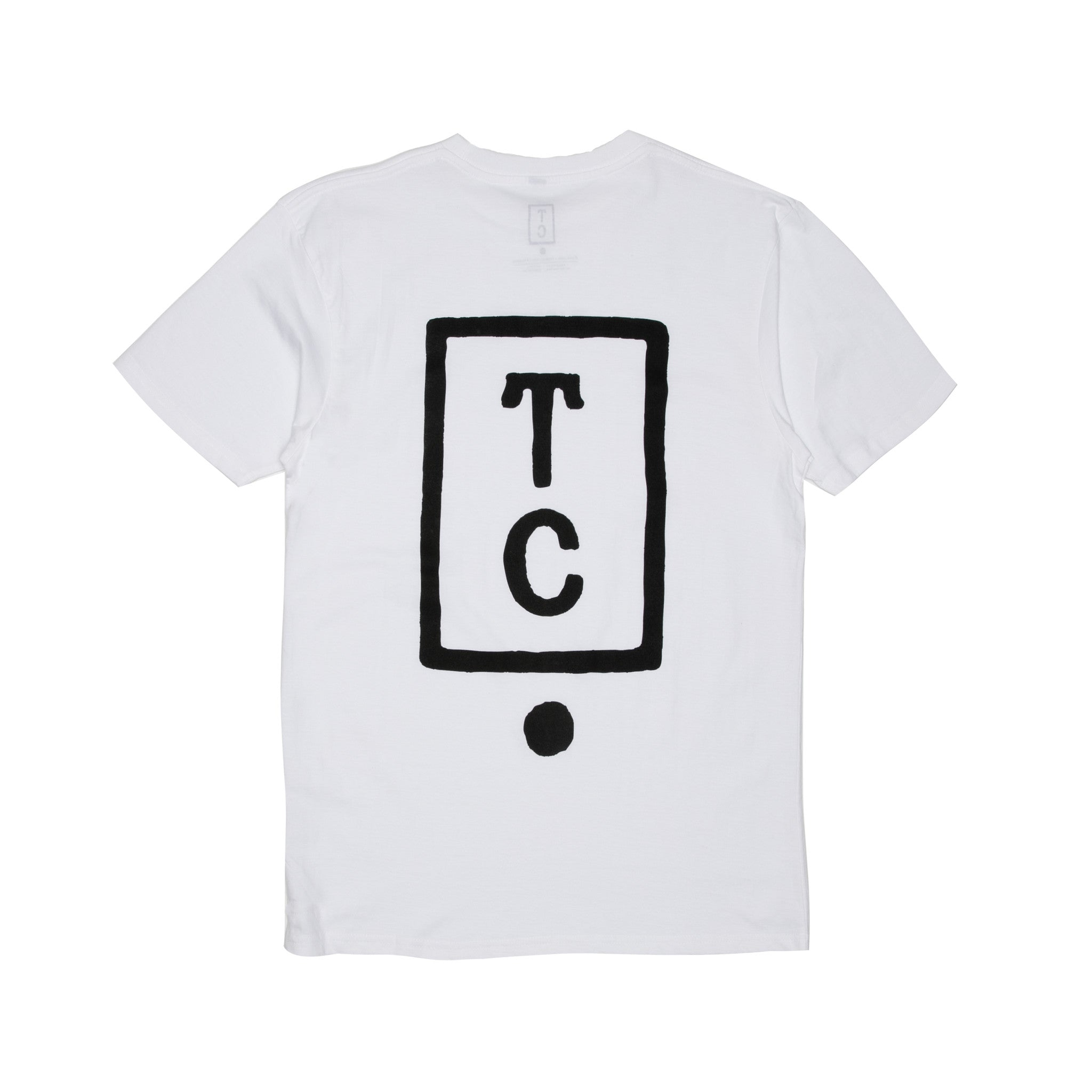 Team Cozy Logo Tee - White