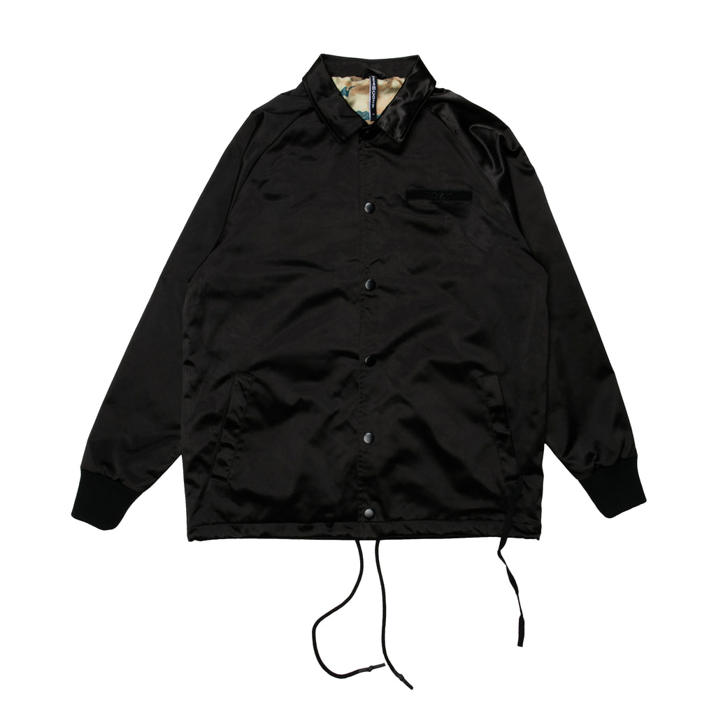 Castle Jacket - Black/Black