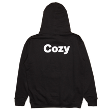 Load image into Gallery viewer, COZY LOGO HOODIE - BLACK