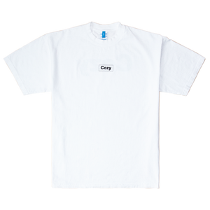 COZY LOGO TEE - WHITE