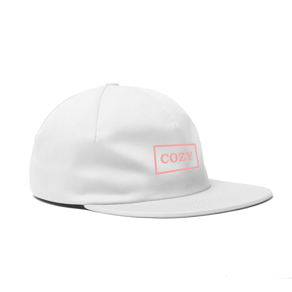 Cozy Box One Panel - White / Light Pink