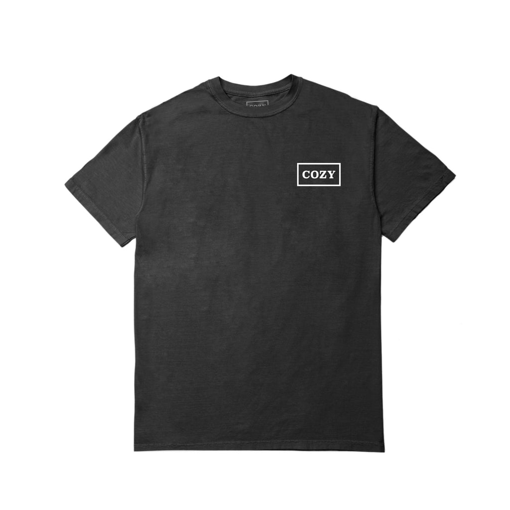 Cozier Box Tee - Black/White