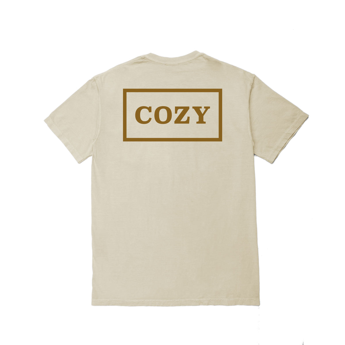 Cozier Box Tee - Cream