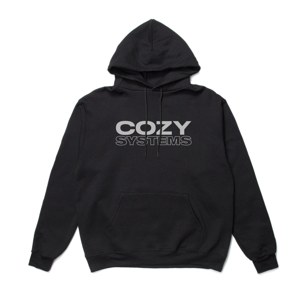 Cozy Systems Hoodie - Black