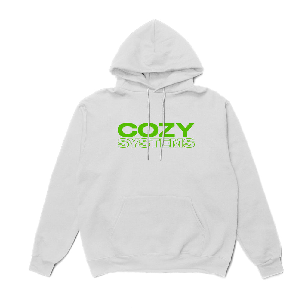Cozy Systems Hoodie - White