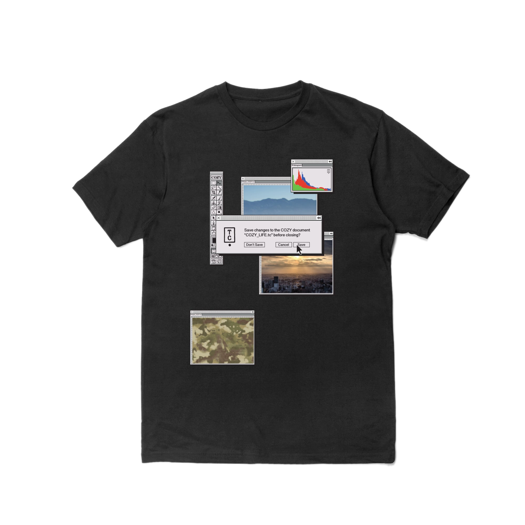 Desktop Tee - Black