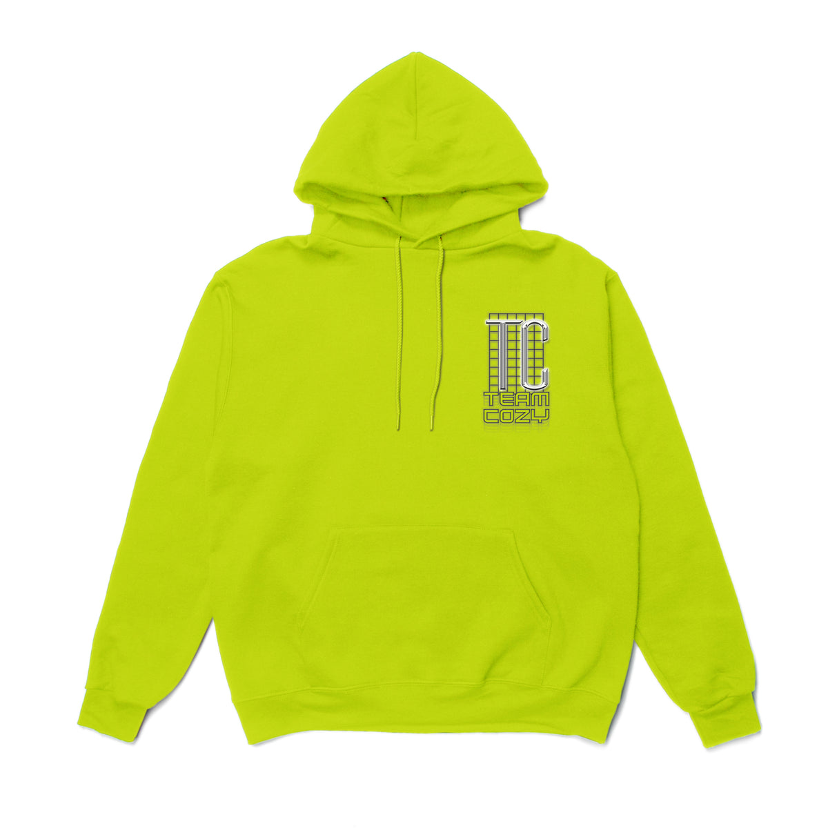 Eye Candy Hoodie - Safety Green